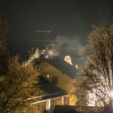 Dachstuhlbrand – Münchner straße