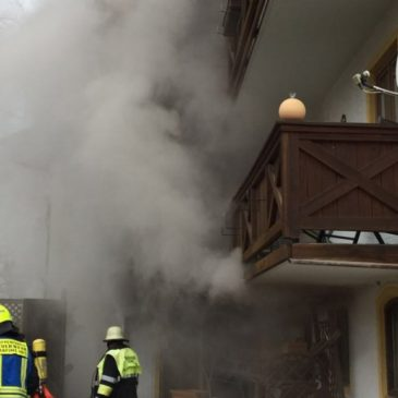Grossbrand in einem Glonner Hotel