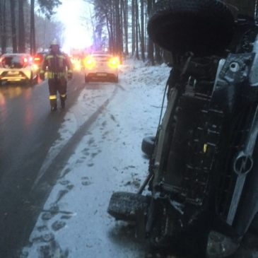 Verkehrsunfall – zwischen Schlacht und Oberpframmern