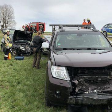 Verkehrsunfall – höhe Alxing